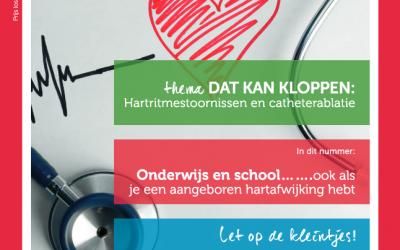 Onderwijs en school…….ook als je een aangeboren hartafwijking hebt