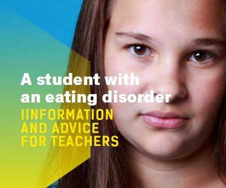 A student with an eating disorder